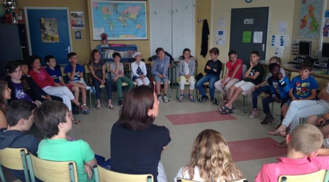 Séances avec Anne – Claire Kleindienst dans la classe de CM1/CM2