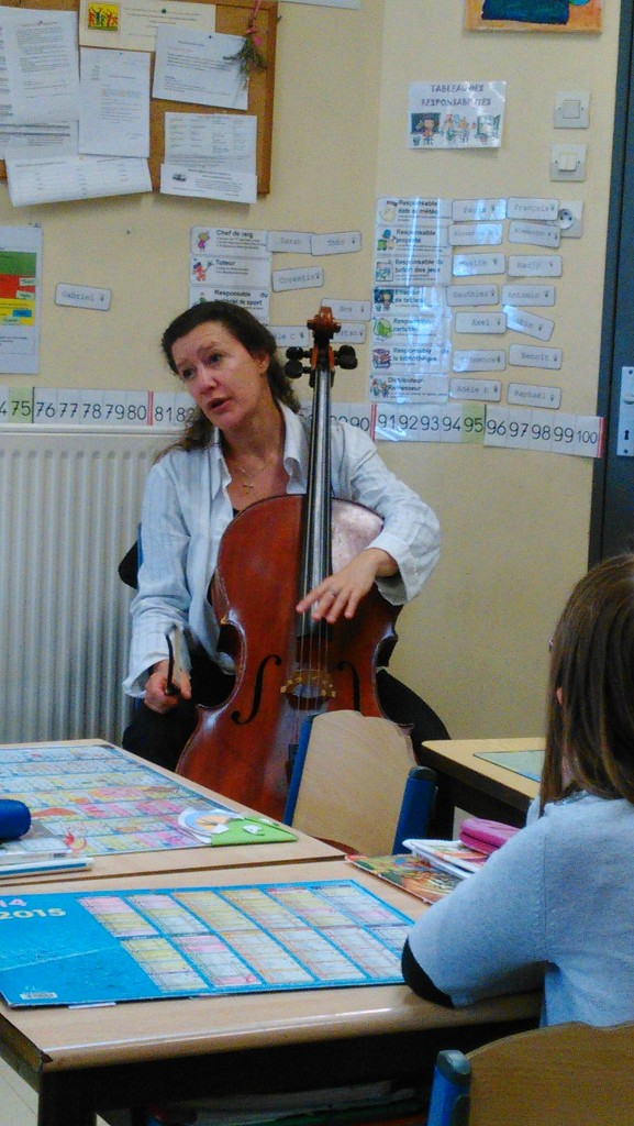 Parent violoncelliste !