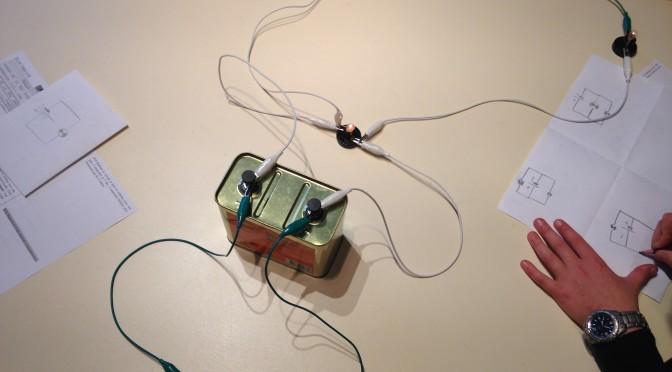 Atelier Electricité au musée vert